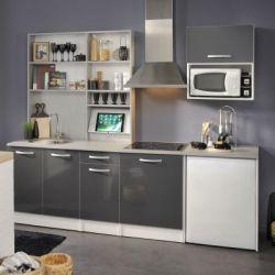 Cuisine Spott Glossy Grey
