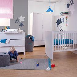 Chambre bébé Quadro White