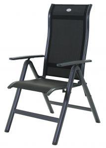 Chaise de jardin Turin - noir