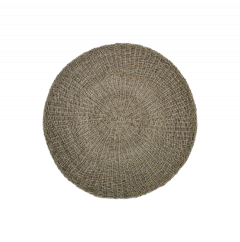 Tapis - ø120 cm - raphia / grass - naturel