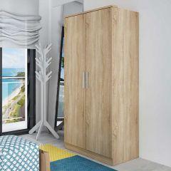 Armoire Ramos 2 portes - chêne