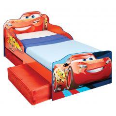 Lit junior Disney Cars avec tiroirs de lit