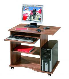 Bureau pour ordinateur Adda - noyer