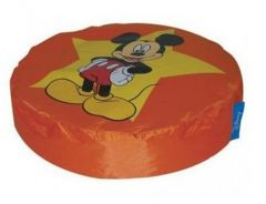 Pouf Mickey Island - orange