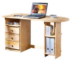 Bureau pour ordinateur Touchround 137cm - nature