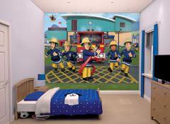 Papier peint Sam le Pompier