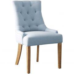 Lot de 2 chaises Anny - bleu clair