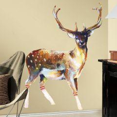 RoomMates stickers muraux - Deer Wearing Gym Socks