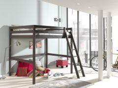 Lit mezzanine Claire 140x200 - taupe