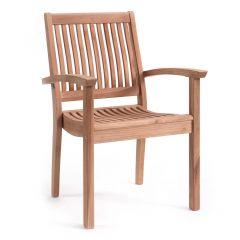 Chaise de jardin empilable Birmingham