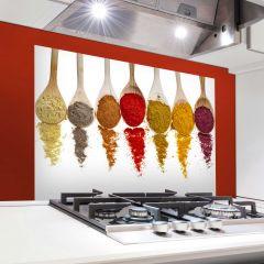 Sticker mural Spoons revêtement mural pour cuisine