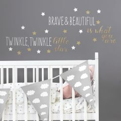Stickers muraux Brave & Beautiful