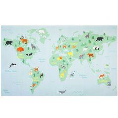 Tapis enfant World Map
