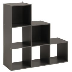 Armoire de rangement Cubicub avec 6 niches - gris