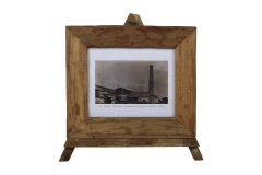 Cadre photo - grand - 43x36 cm - teck