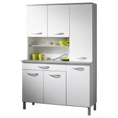 Buffet Smooth Blanc 120 cm