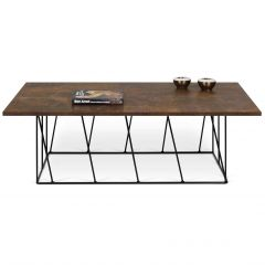 Table basse Helix - rouille