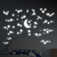Stickers muraux 3D phosphorescents Starry Night