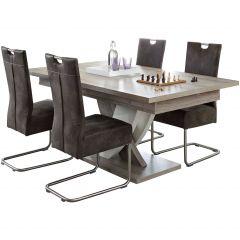 Table extensible design Karim - 185>225cm