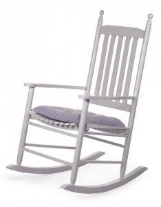 Chaise à bascule - gris
