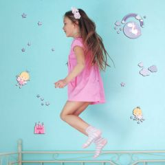 Stickers muraux 3D Happy Fairies