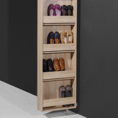 Armoire à chaussures & de rangement Larsen - chêne