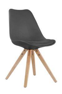 Ensemble de 2 chaises Lady - noir