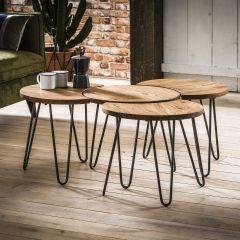 Set de 4 tables basses Naturalis