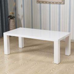 Table basse Italia 120x60 - blanc