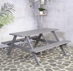 Table de pique-nique Rachel - gris