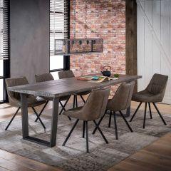 Table à manger Lilly 230x95 - foncé