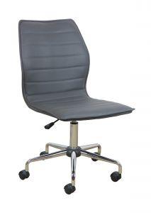 Chaise de bureau Tendance - gris foncé