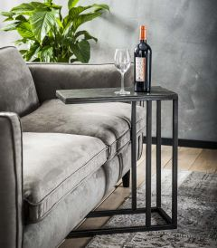 Table d'ordinateur fonte de sable - Nickel noir