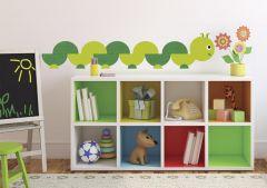 RoomMates stickers muraux - Ver pour les bouquineurs