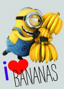Tapis Les Minions Love Bananas