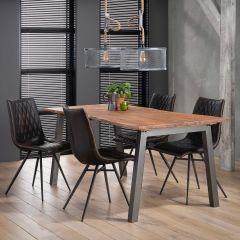 Table à manger 180 edge 25mm - Massif acacia naturel