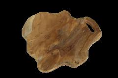 Plateau moyen - 36x38 cm - teck