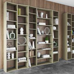 Bibliothèque Varna modèle 5 - gris