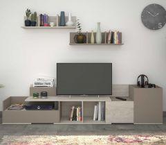 Meuble tv Boost - gris