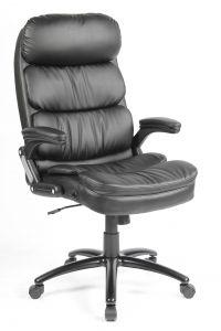 Chaise pivotante Dave - noir