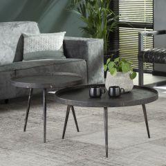 Set de 2 tables basses Lima ø76
