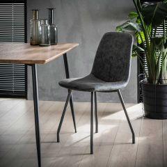 Lot de 4 chaises Violetta - noir