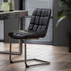Lot de 2 chaises Maeve - noir