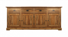 Buffet 4 portes - antique - teck