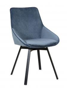Lot de 2 chaises Mathias - bleu