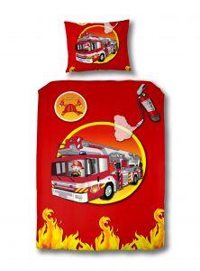 Housse de couette Voiture de pompiers