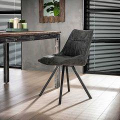 Lot de 4 chaises Veli - noir