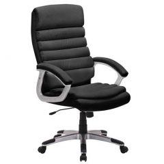 Chaise de bureau 'Kennedy' PU Noir