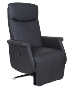 Fauteuil relax Kiwi - noir