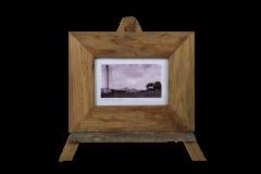 Cadre photo - moyen - 34x27 cm - teck